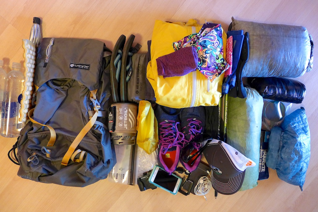 My Gear, Clothing, and Electronics - Summer 2015