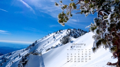 Mt. Baden-Powell January Calendar