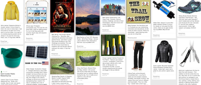 2013 Hiking Favorites on Pinterest