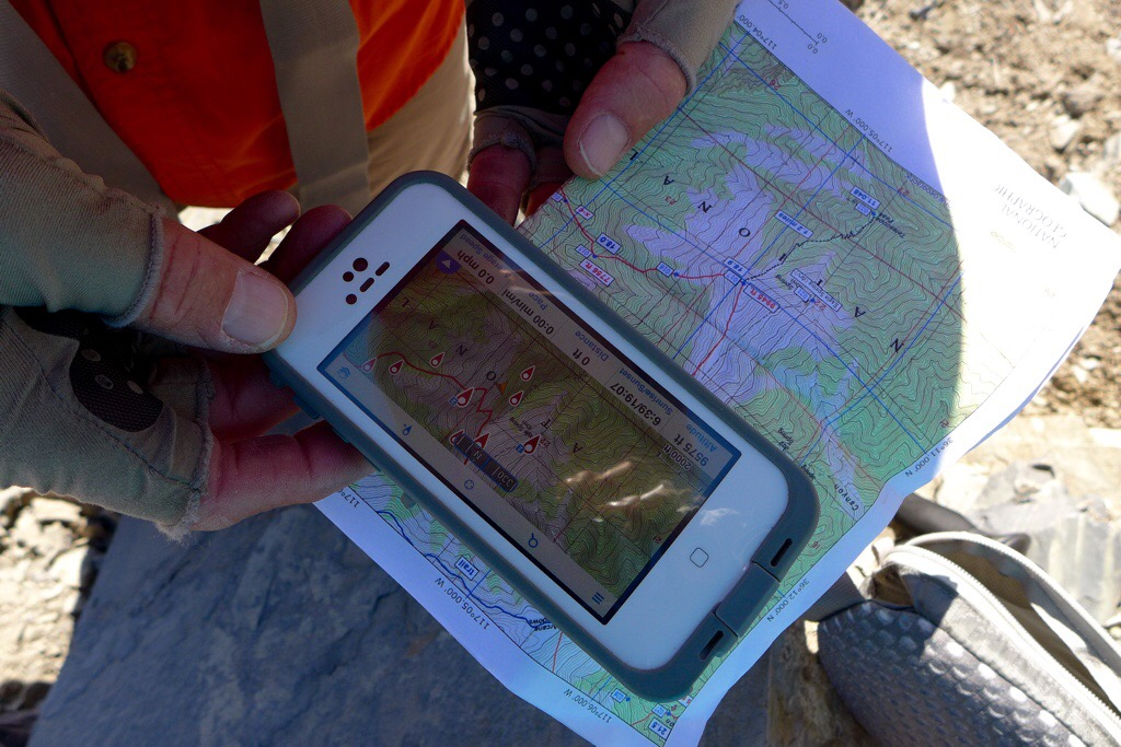 Using Phone GPS with Map
