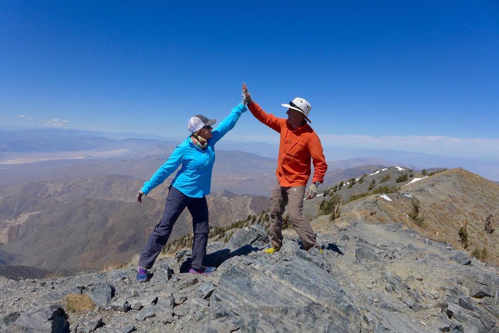 Top of Telescope Peak