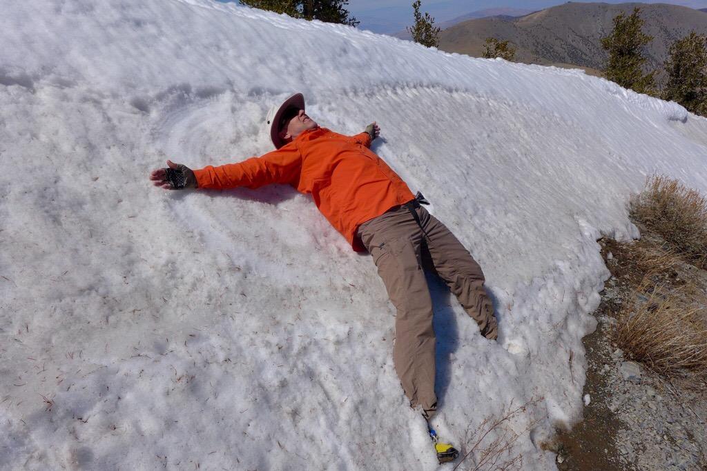 Snow Angels on Telescope Peak