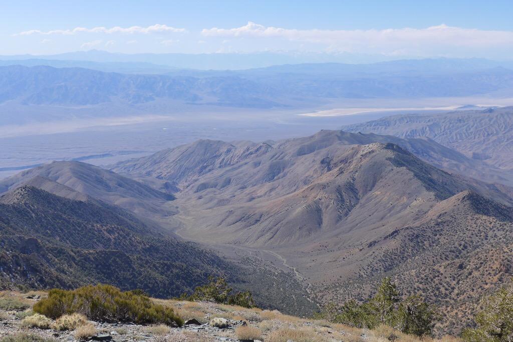 Looking Down at next destination - Tuber Canyon