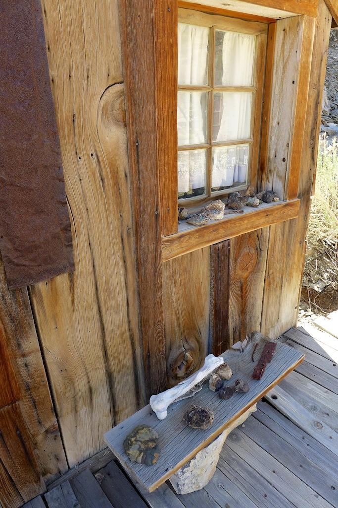House at Cerro Gordo Mine