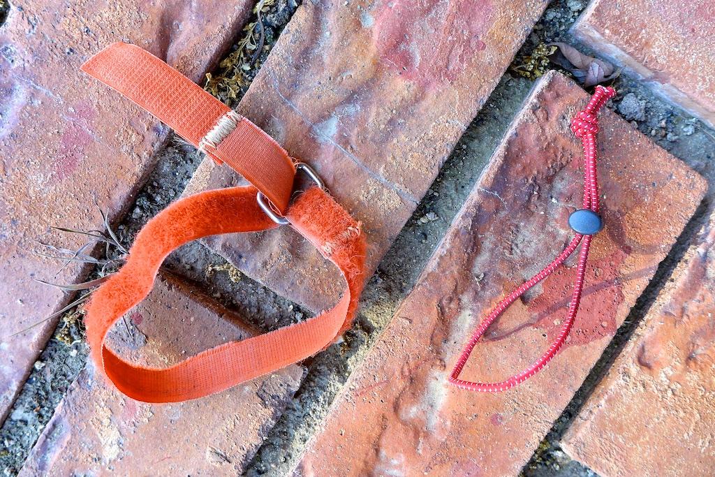 Velcro Strap and Cord with Mini Cord Lock